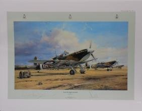 Eagle Squadron Scramble Military Print By Robert Taylor