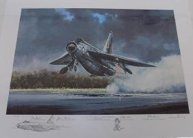 Lightning Thunder Military Print By Michael Rondot