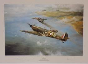 First Combat By Robert Taylor Signed By Taylor And Don