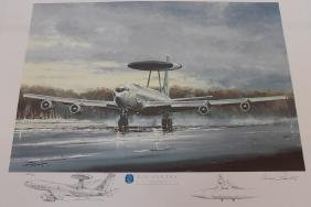 E-3A Sentry Military Print By Michael Rondot AP
