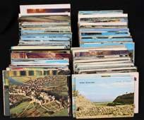 (1100-1300) Worldwide Postcards Travel Types