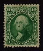 "United States Scott 89 XF OG H 10¢ ""E"" Grill SCV.$5250"