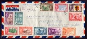 Sarawak Scott 180-194 On Philatelic Cover To The U.s.