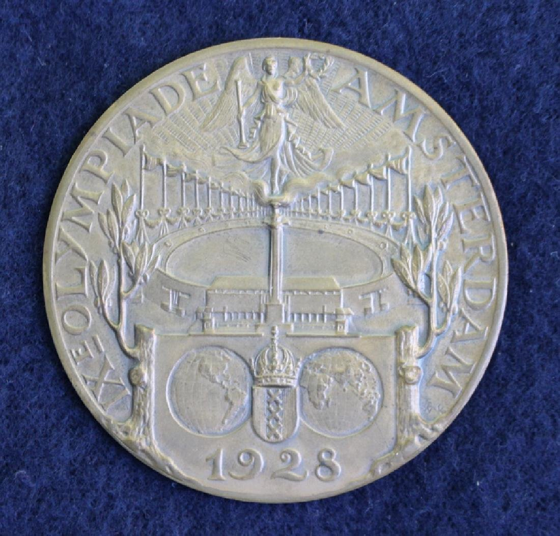 1928 Amsterdam Summer Olympics Participation Medal