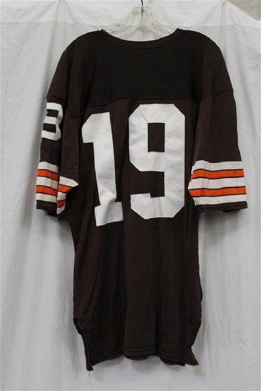 sports shoes f2237 cc002 Game Worn Bernie Kosar Cleveland Browns jersey