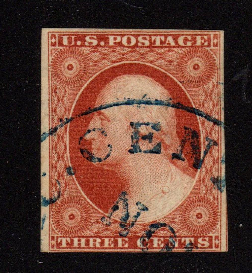 U.S. Scott 10 VF Used Type I Washington SCV.$190