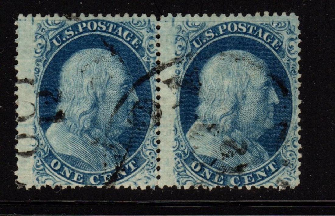 U.S. Scott 24 Fine Used Rare Type Va Pair 2002 APEX