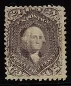 U.S.Scott 99 F-VF Unused 24¢ Washington SCV.$3250