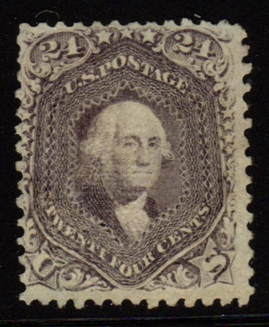 U.S.Scott 99 F-VF Unused 24¢ Washington SCV.$3250