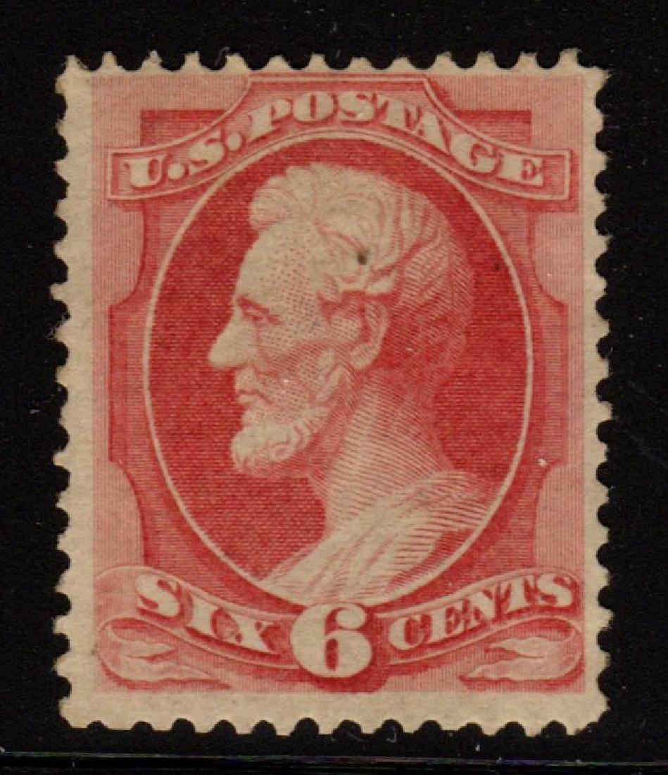 U.S.Scott 148 Fine OG H 6¢ Lincoln Banknote SCV.$900