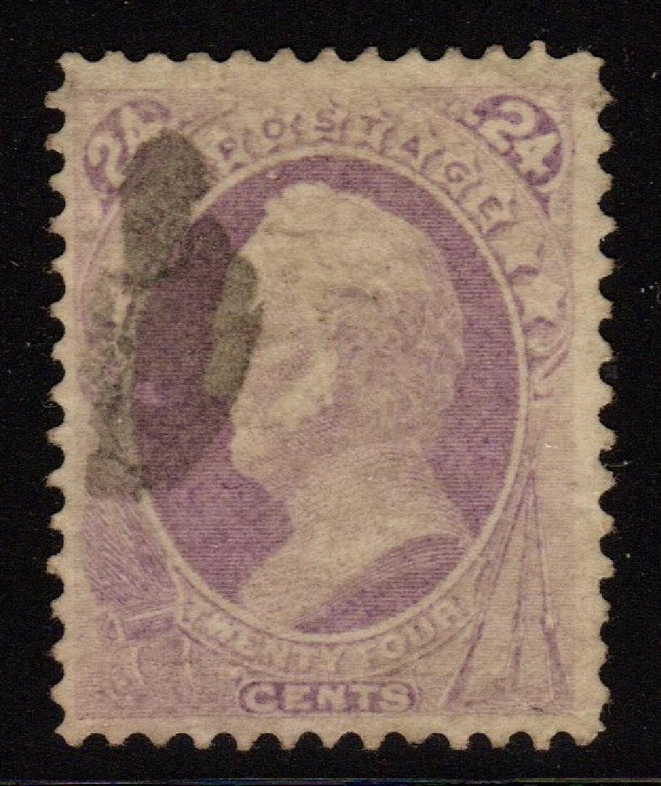U.S.Scott 153 VF Used 24¢ Winfield Scott SCV.$230