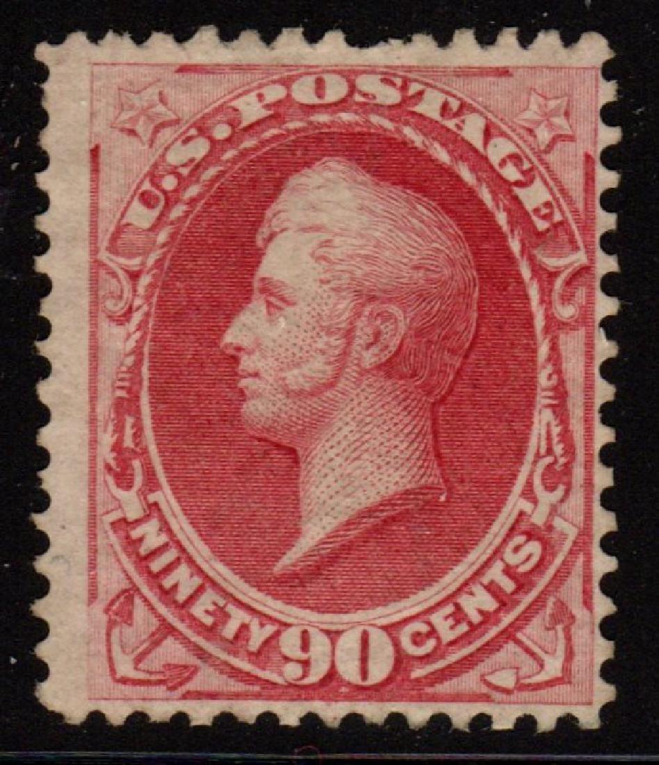 U.S.Scott 155 Fine Unused 90¢ Perry SCV.$1900