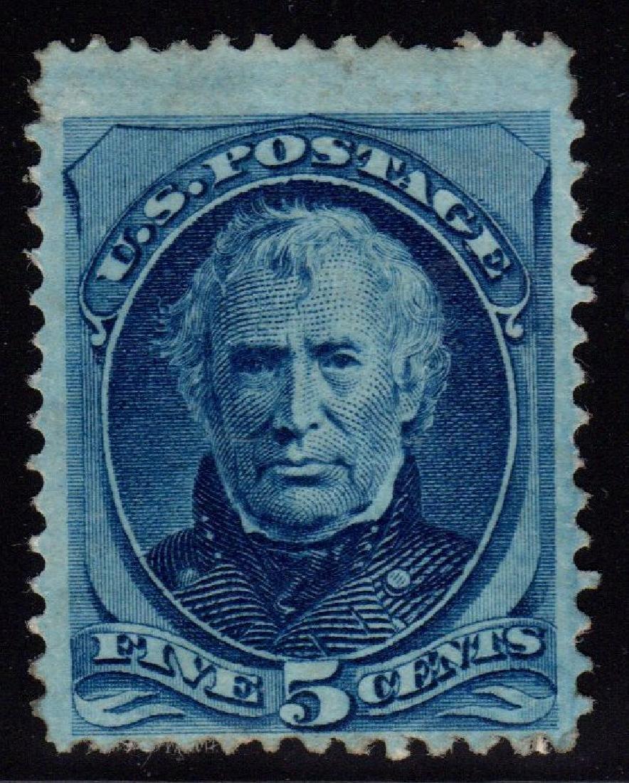 U.S. Scott 179 Fine OG H 5¢ Zachary Taylor SCV.$700