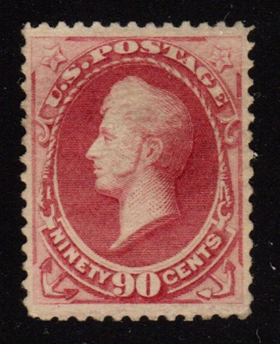 United States Scott 191 VF OG H 90¢ Perry SCV.$2000