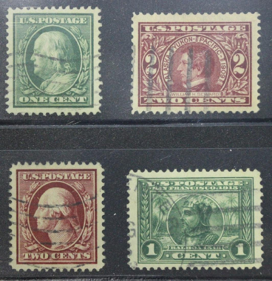 United States Scott 331, 370, 375 and 397 Used Gems
