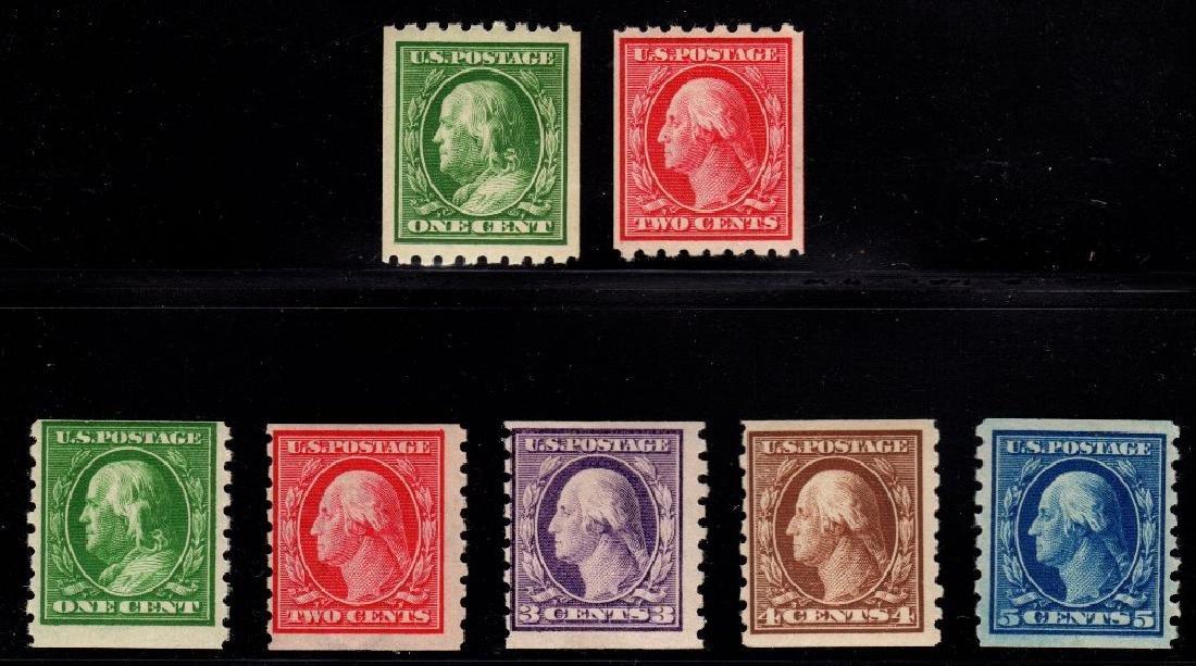 United States Unused Selection Scott 390-396 F OG