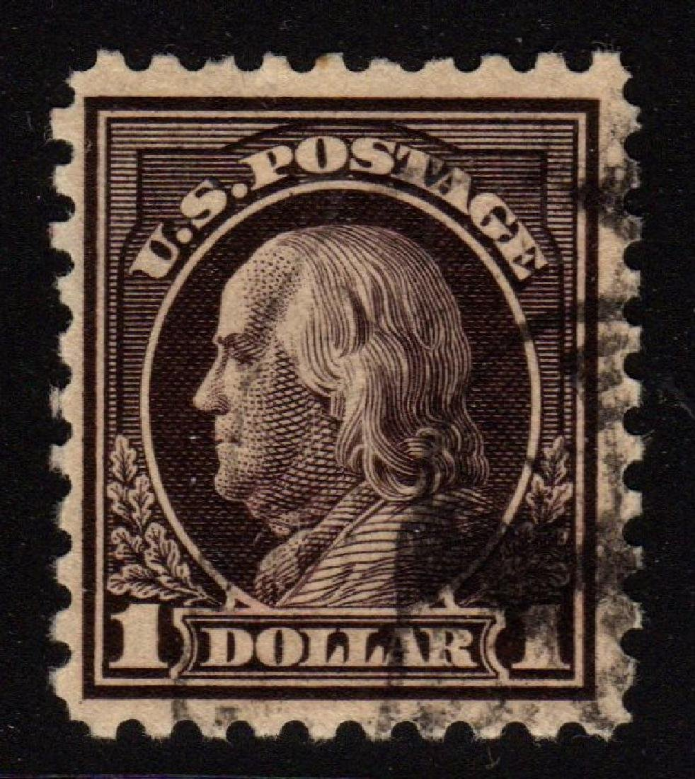 U.S.Scott 460 VF Used $1 Franklin SCV.$140