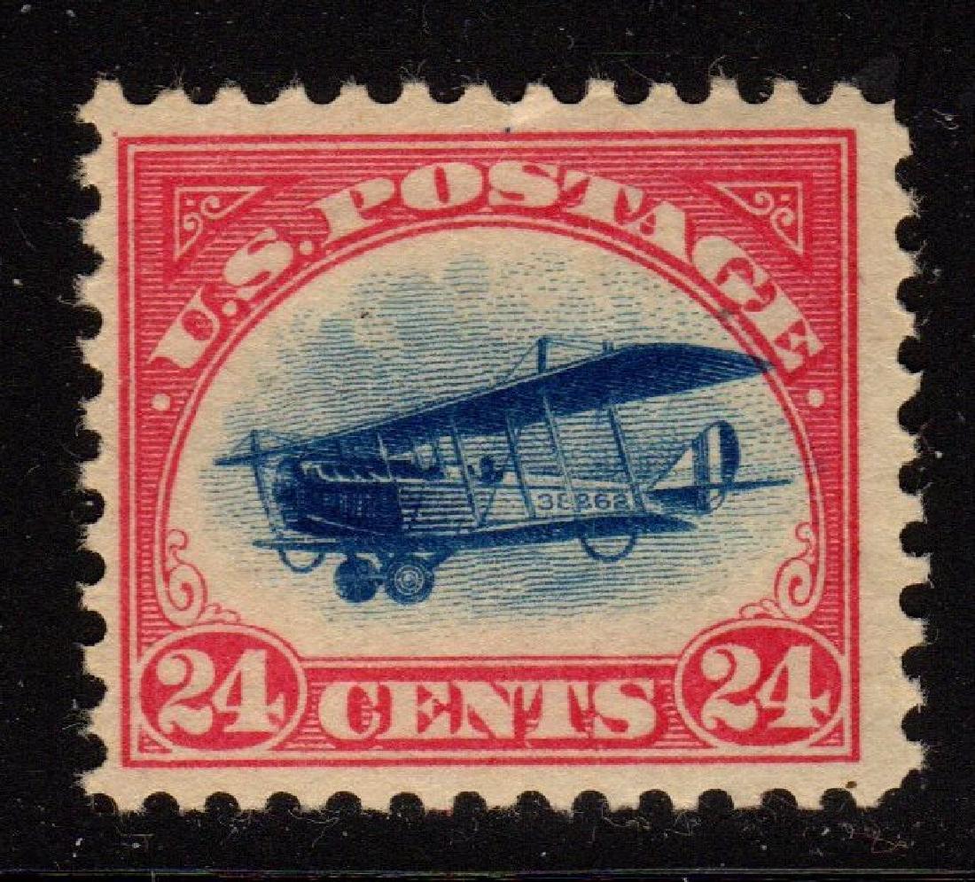 U.S. Scott C3 F-VF OG NH 24¢ Curtiss Jenny SCV.$130