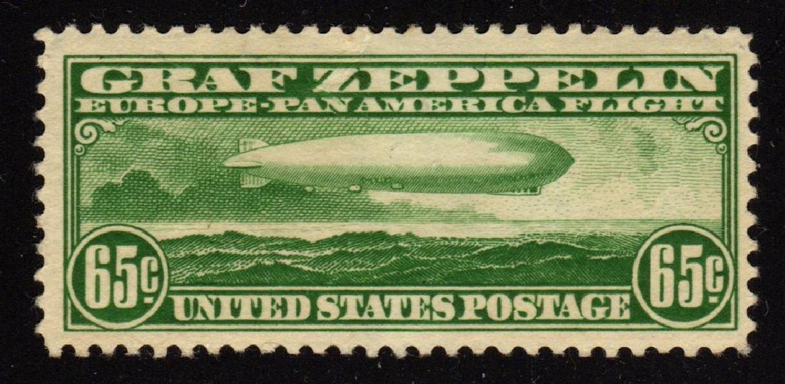U.S.Scott C13 F-VF OG VLH Graf Zeppelin SCV.$180