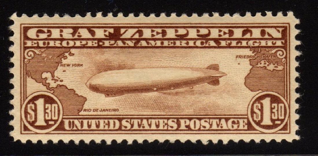 U.S.Scott C14 XF OG LH Graf Zeppelin SCV.$375