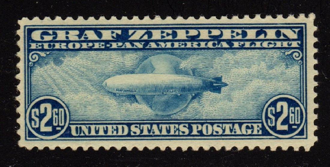 U.S. Scott C15 VF OG NH $2.60 Graf Zeppelin SCV.$925