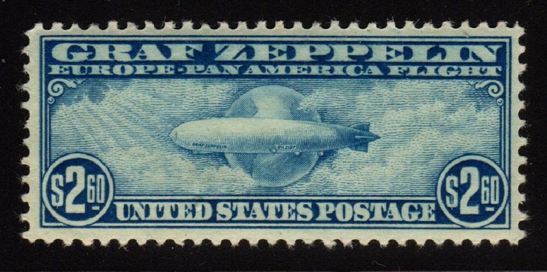 U.S.Scott C15 VF OG LH Graf Zeppelin SCV.$550