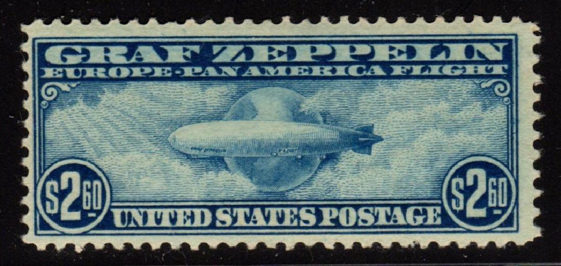 U.S.Scott C15 F-VF OG LH Graf Zeppelin SCV.$550