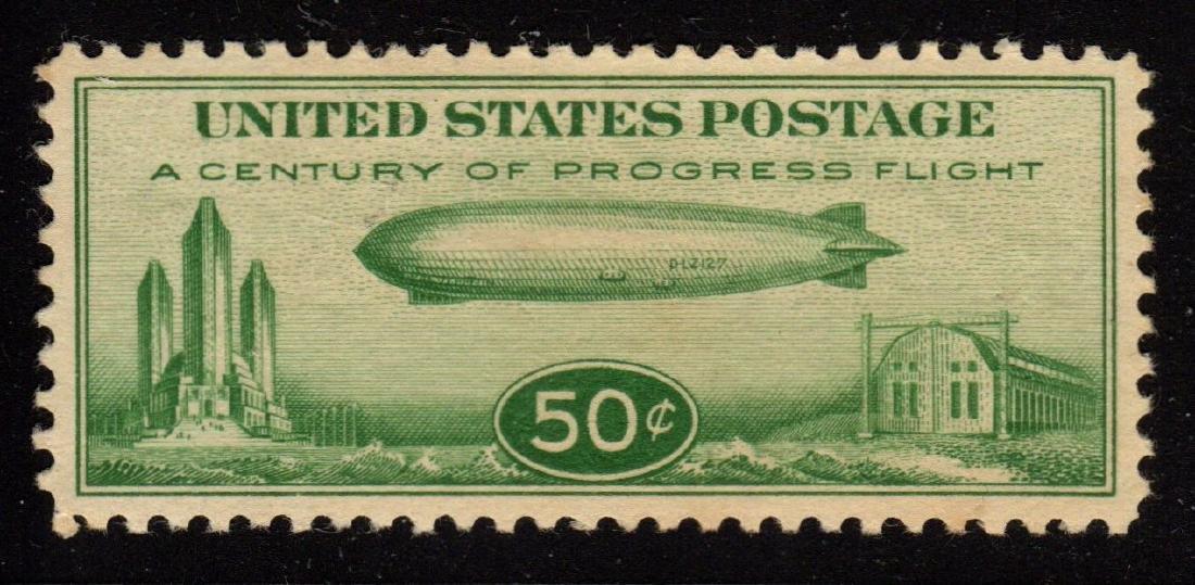 United States Scott C18 XF OG NH Select! SCV.$85
