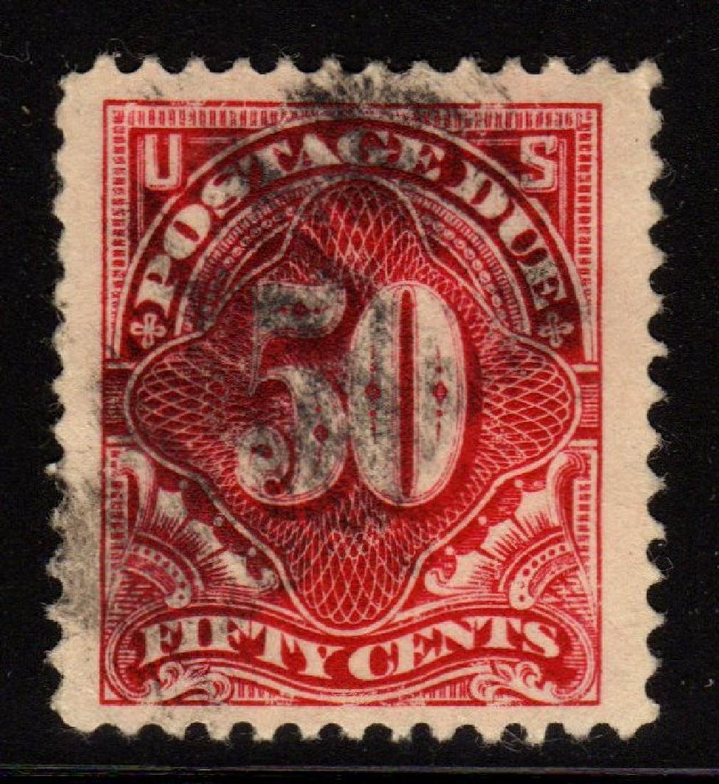 U.S.Scott J50 XF Used 50¢ Postage Due SCV.$200