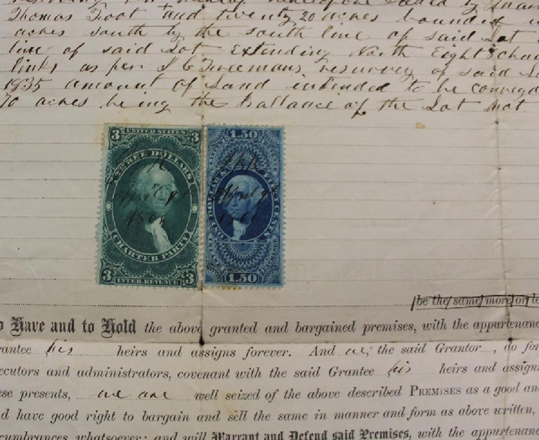 United States R85, R120 on 1886 Warranty Deed - 2
