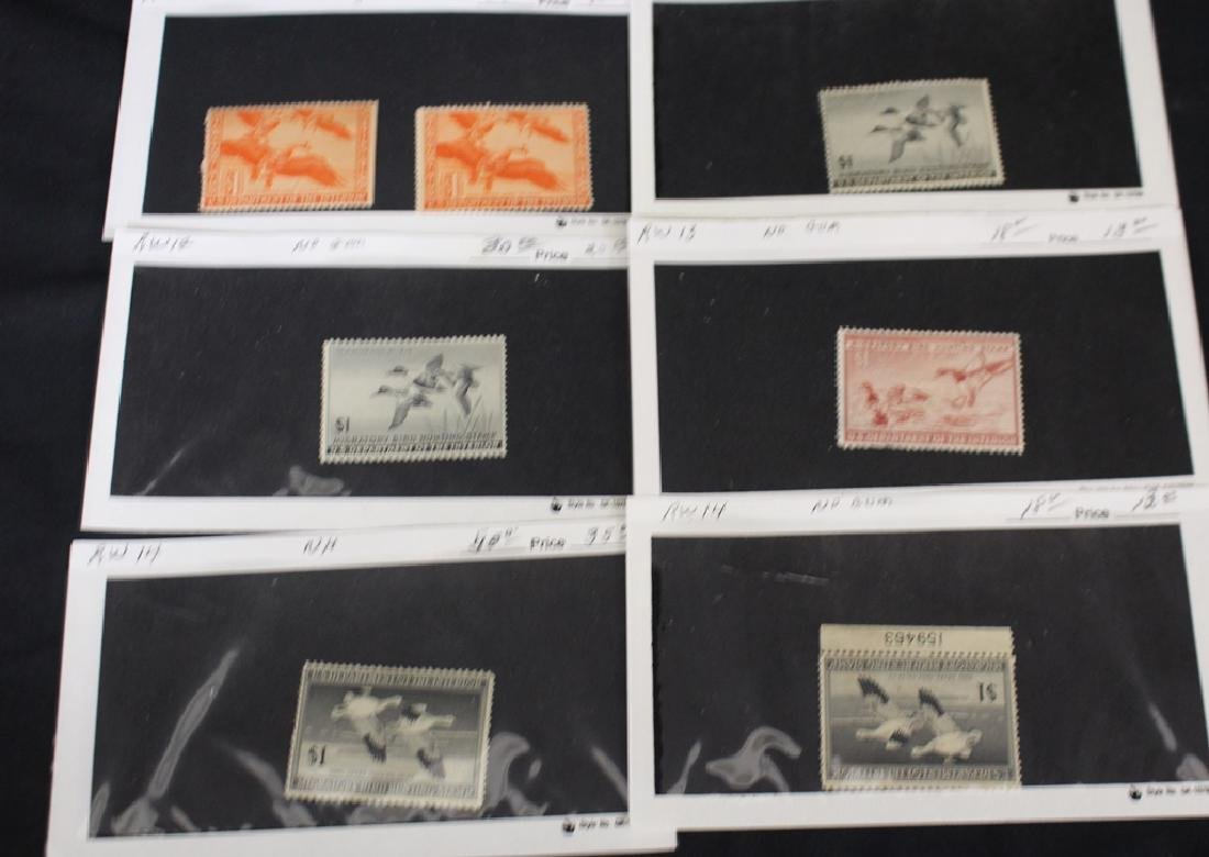Retired Dealer Stock of Federal Duck Stamps - 4