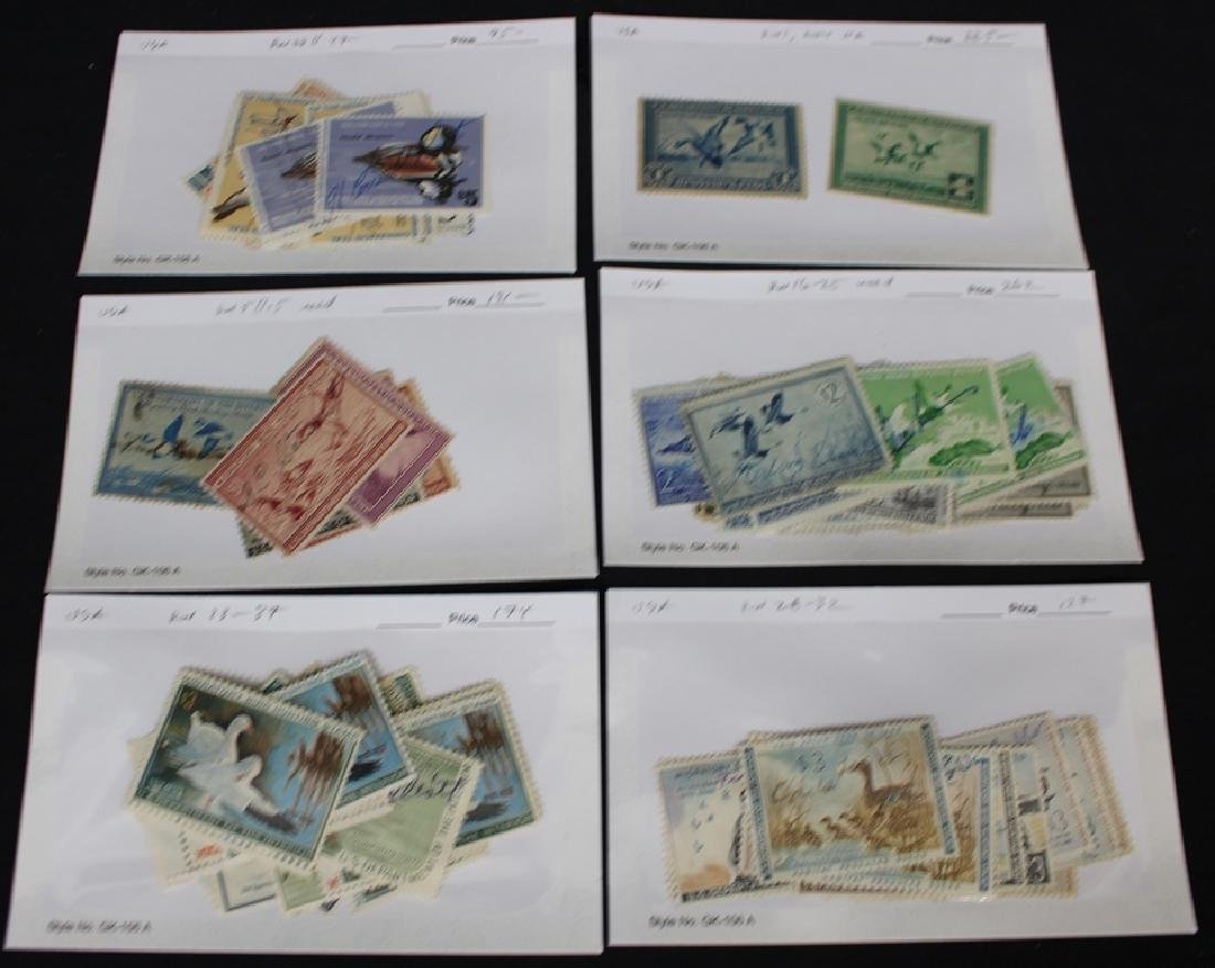 Federal Duck Stamp Used Lot