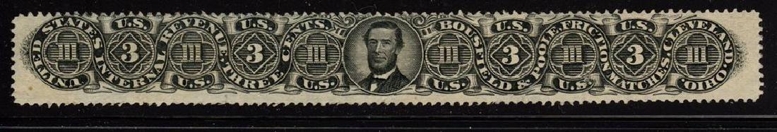 U.S.Scott RO37a F-VF Used 3¢ Bousfield & Poole SCV.$200