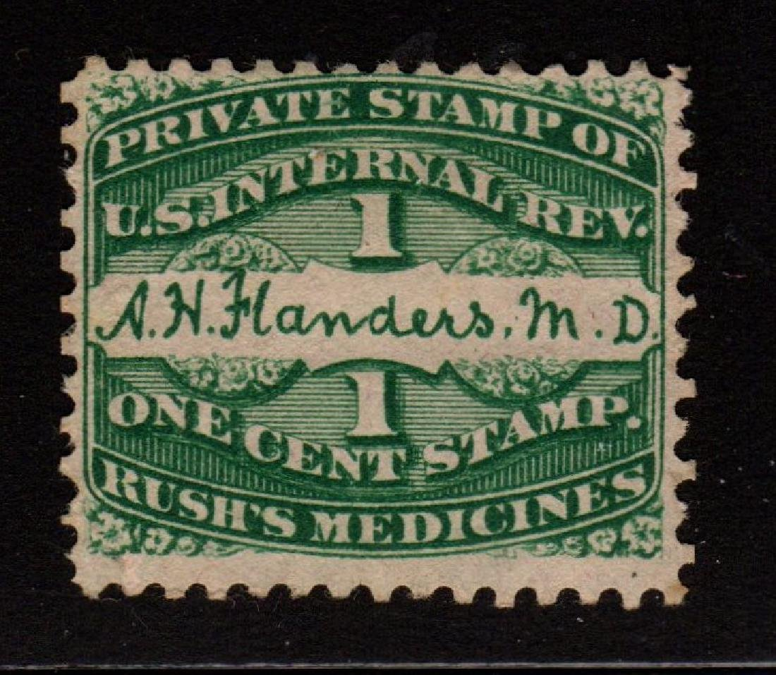 United States Scott RS86c Fine Used A.H. Flanders Pink