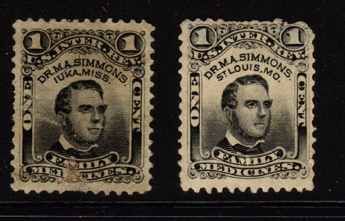 U.S. Scott RS223b-RS224d Fine Used Dr.M.A.Simmons