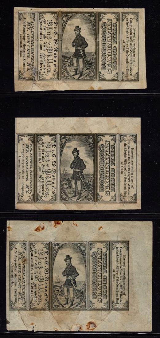 U.S. Scott RS245a (2)RS245b F-VF Used Wrappers SCV.$150