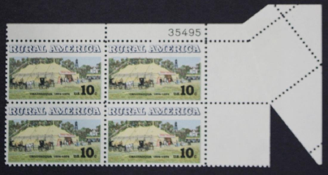 United States Scott 1505 Plate Block EFO w/Fold Over