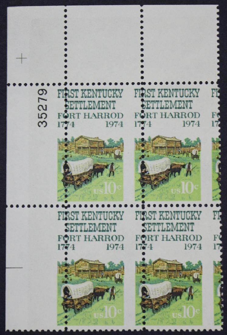 United States Scott 1542 Plate Block Misperf with Edge