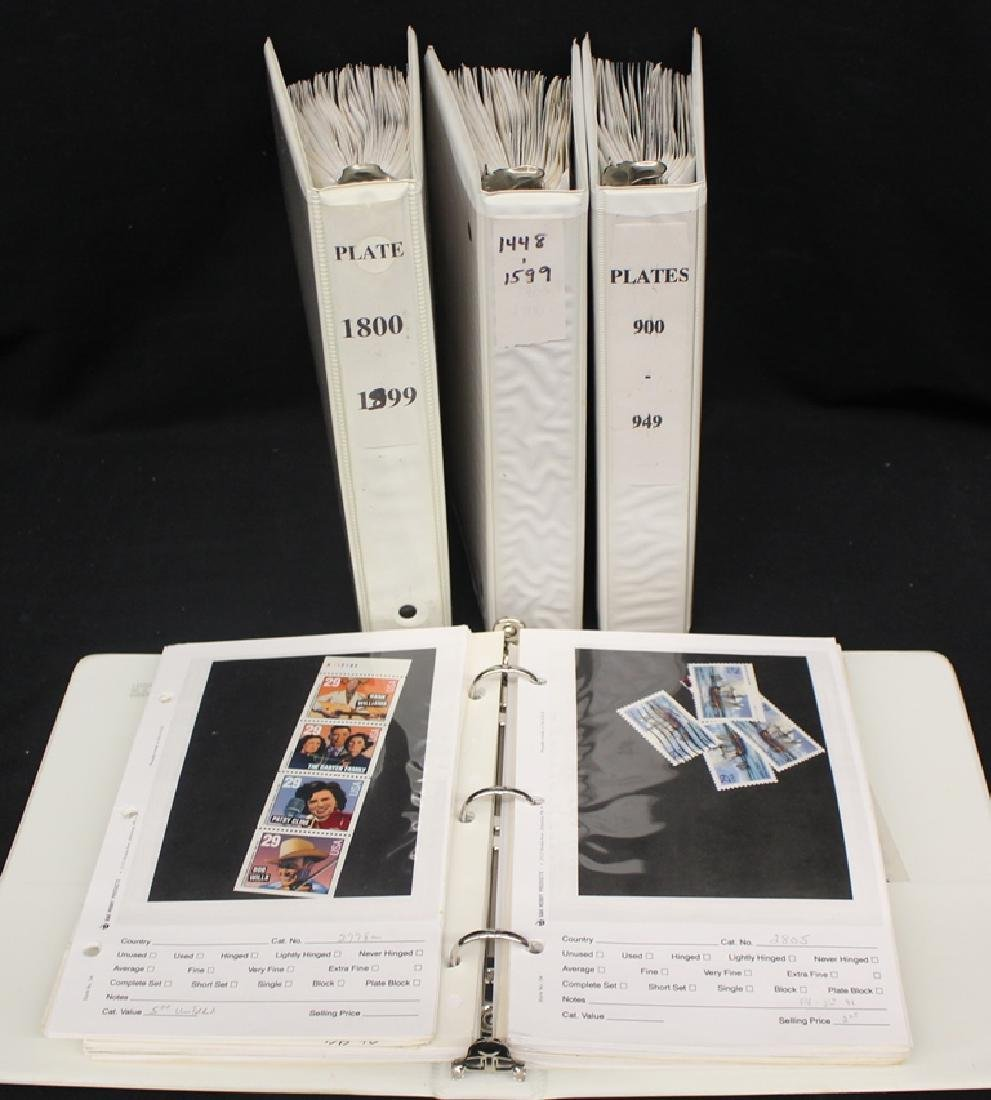 United States Plate Blocks and Singles Face $420+
