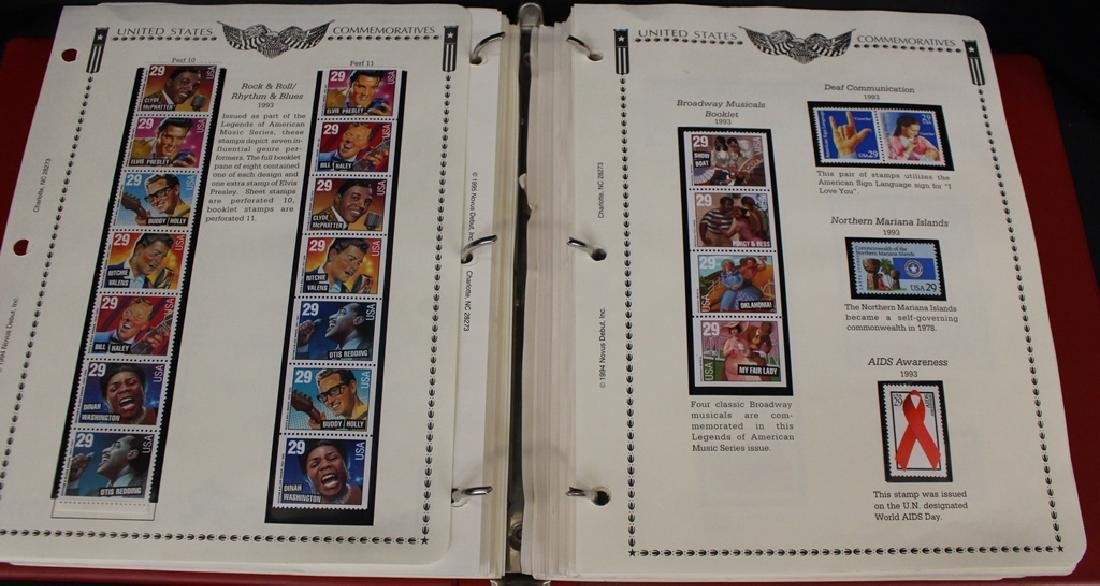 United States Stamp Collection 1983-1999 Face $400+ - 5
