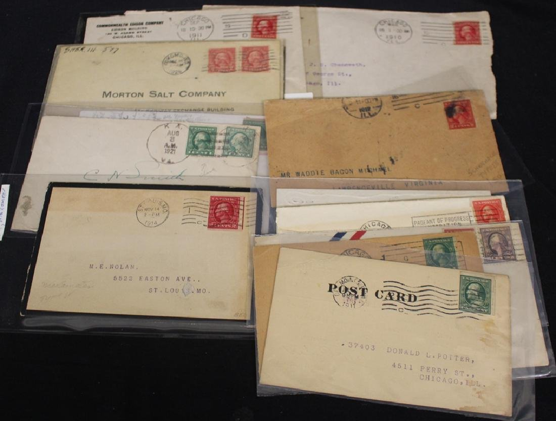 U.S. Private Vending Stamp and Cover Lot - 3
