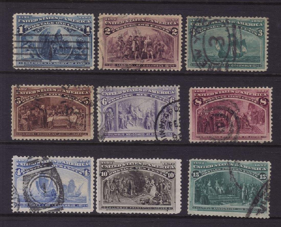 United States Used Commemorative Stamp Lot SCV.$700