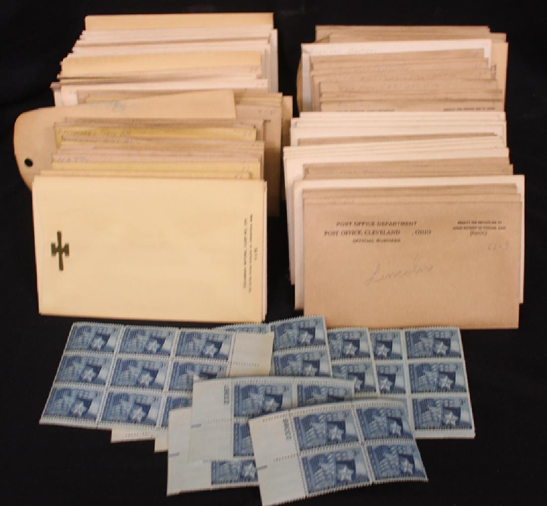 United States Plate Block Stock 1948-1953