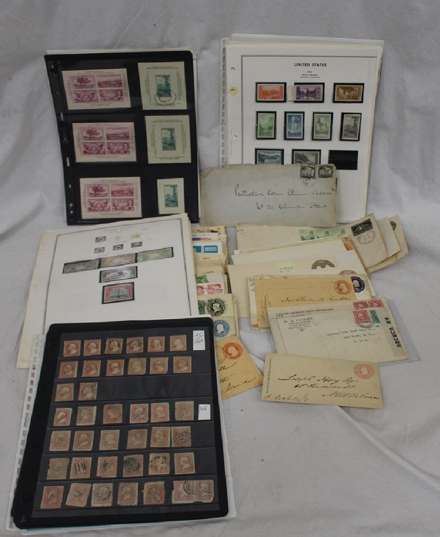 U.S. Stamps and Covers Lot