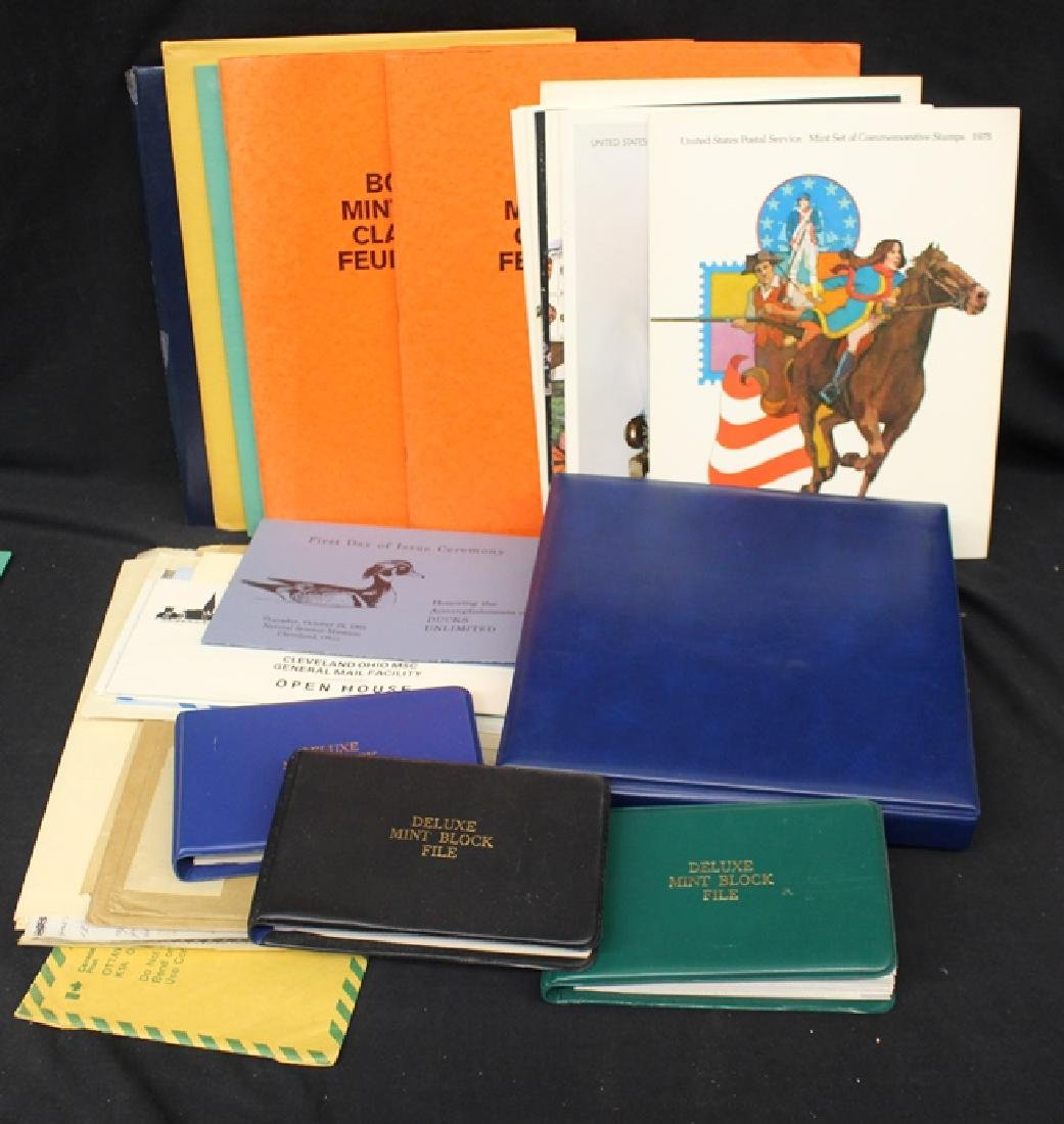 United States Stamp Collection w/Sheets