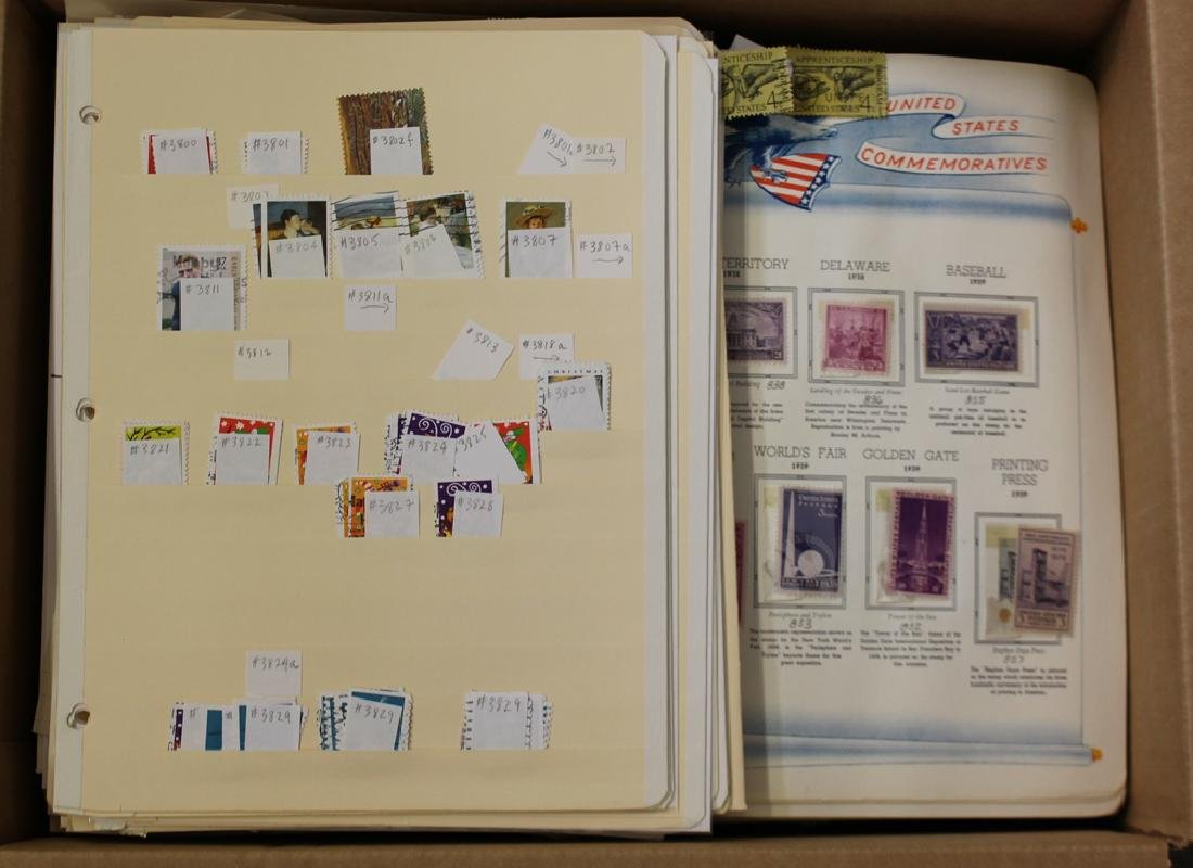United States Used Unused Stamp Accumulation
