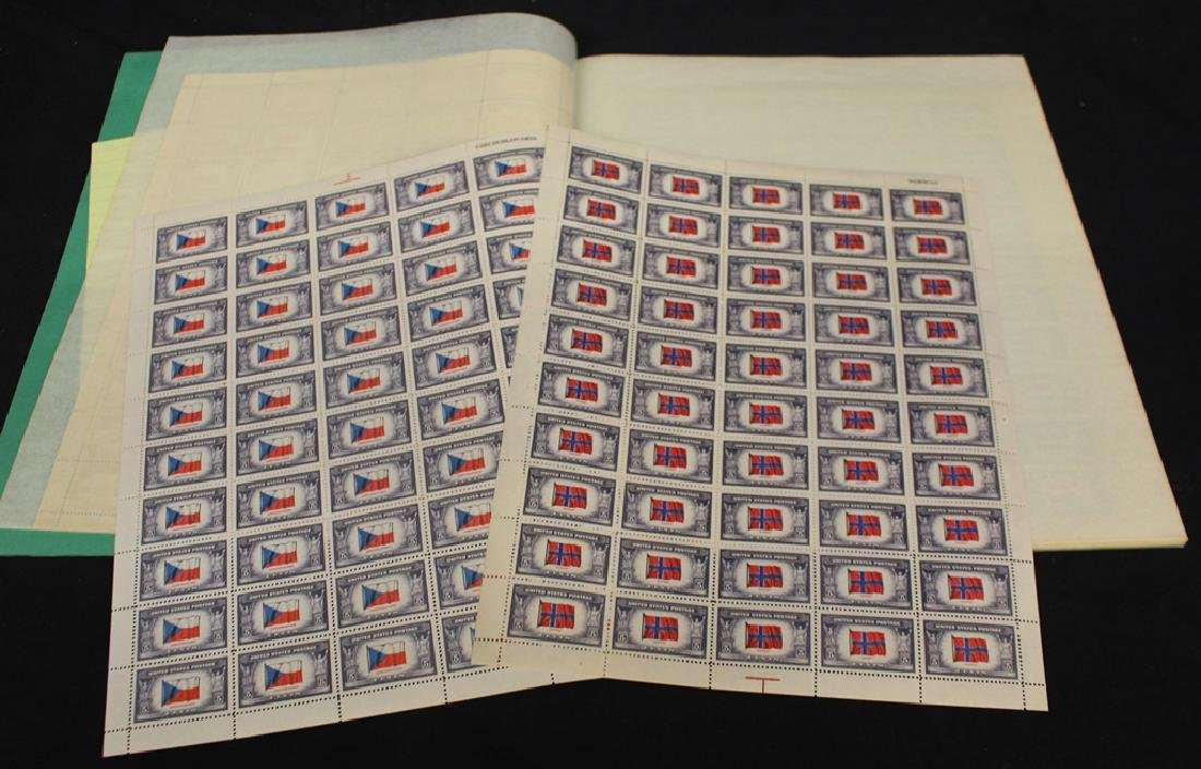 United States Scott 909-921 Overrun Countries Sheets VF