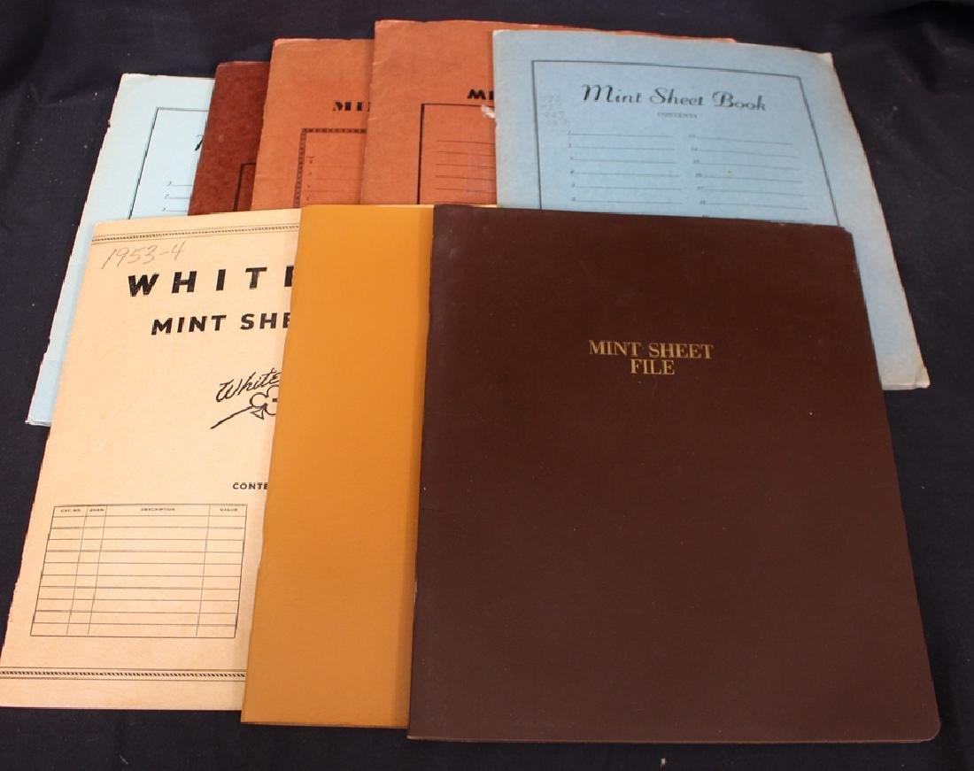 United States Sheets, Part Sheets and Postage Lot