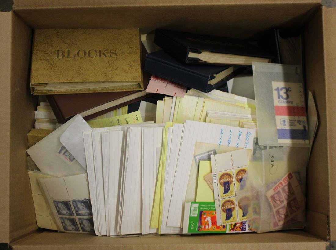 Large Lot of U.S. Postage