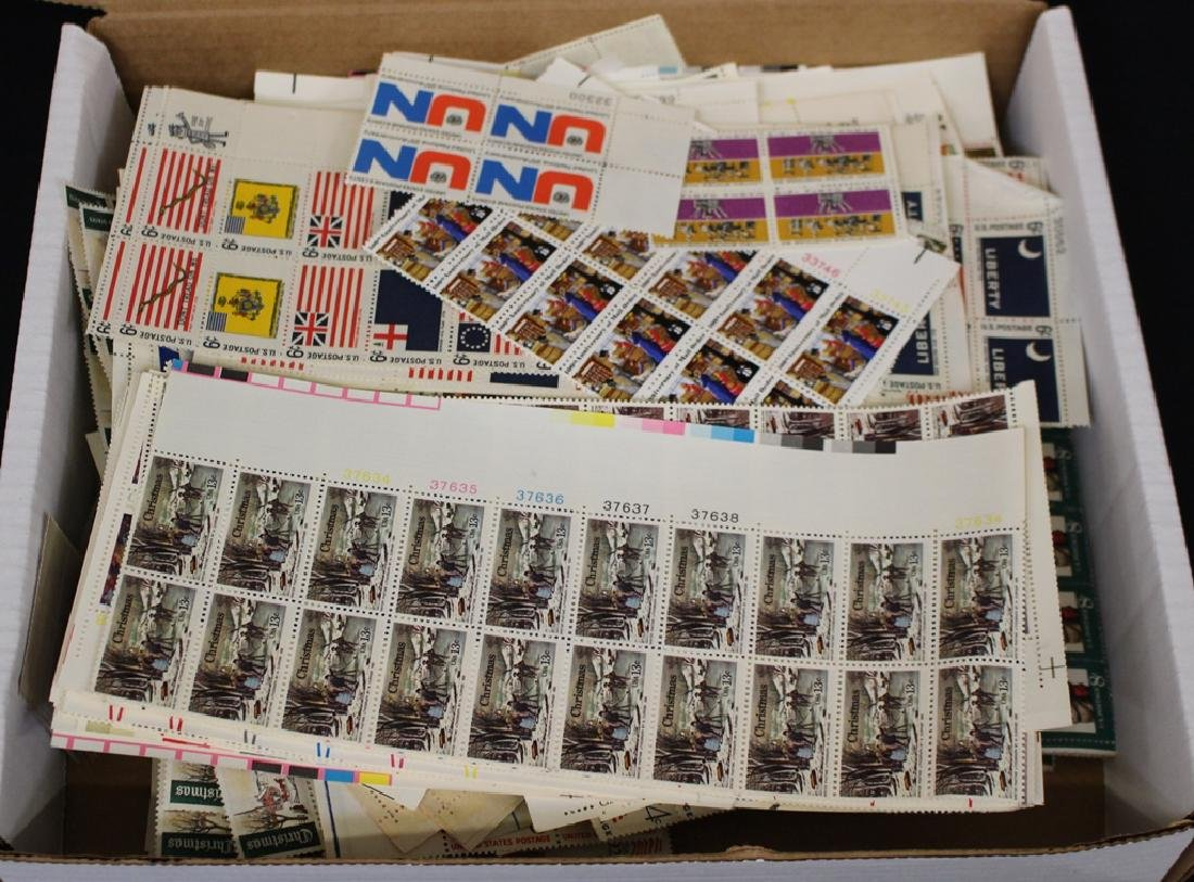United States Plate Blocks and More Face $460+